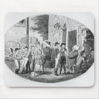 Outside the Old Hats Tavern Mouse Pad