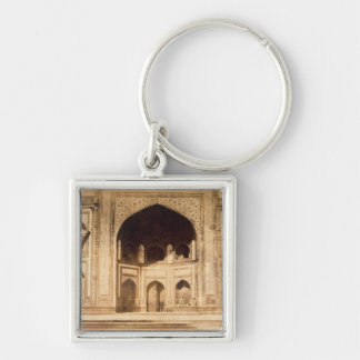 Outside the Taj Mahal, probably illustrated in 'Ph Keychain