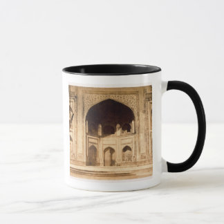 Outside the Taj Mahal, probably illustrated in 'Ph Mug