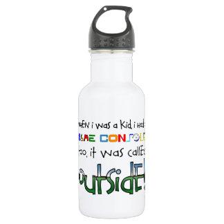 """""""Outside"""" Water Bottle"""
