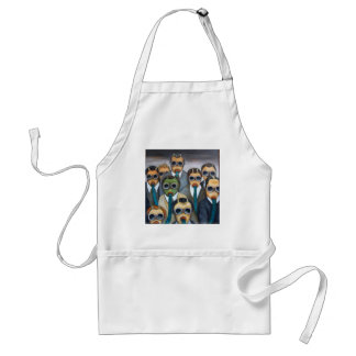 Outsider 4 the meeting adult apron