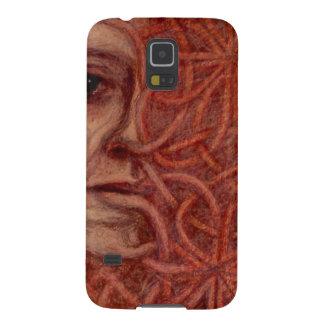 Outsider Art entitled  'For John' Galaxy S5 Case