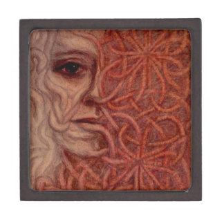 Outsider Art entitled  'For John' Premium Keepsake Box