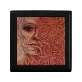 Outsider Art entitled  'For John' Trinket Box