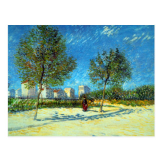 Outskirts by Vincent van Gogh Postcard