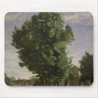 Outskirts of a village near Beauvais, c.1850 Mouse Pad