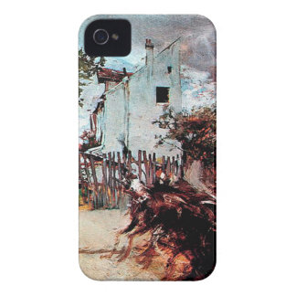 Outskirts of Paris by Giovanni Boldini iPhone 4 Case-Mate Cases