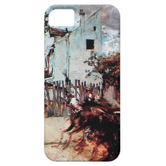 Outskirts of Paris by Giovanni Boldini iPhone SE/5/5s Case