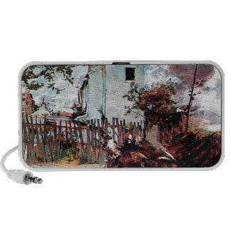 Outskirts of Paris by Giovanni Boldini Portable Speaker