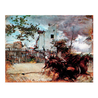 Outskirts of Paris by Giovanni Boldini Postcard