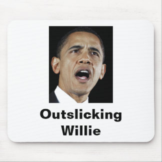 Outslicking Willie Mouse Pad