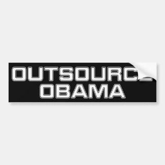 Outsource Obama Car Bumper Sticker