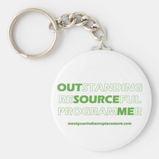 Outsource Your Programmers Keychain