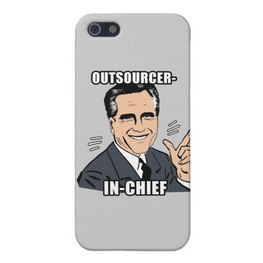 outsourcer-in-chief - .png iPhone 5/5S cover