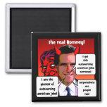 outsourcing pioneer Romney Fridge Magnet