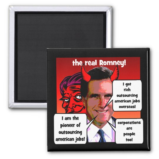 outsourcing pioneer Romney Magnet