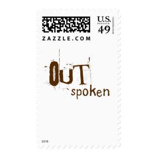 OUTSpoken Stamp