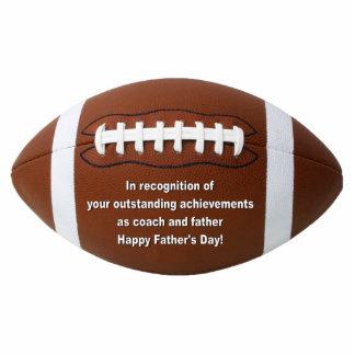 Outstanding Achievement Football Ornament Cut Out