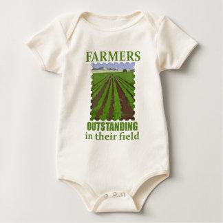 Outstanding Farmers Bodysuits