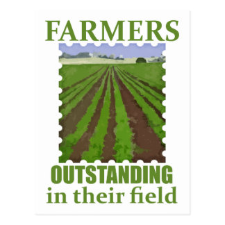 Outstanding Farmers Postcard
