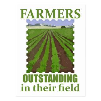 Outstanding Farmers Postcard