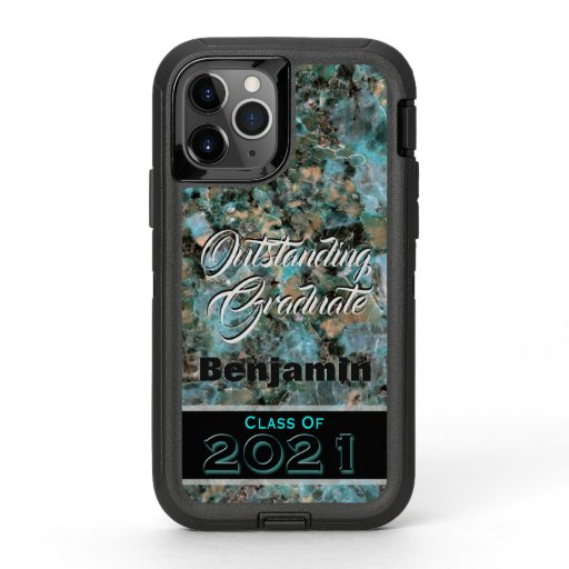 Outstanding Graduate Class of 2021 Custom OtterBox Defender iPhone 11 Pro Case
