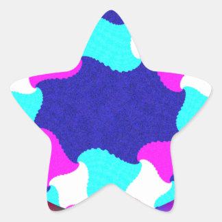 Outstanding Graphic Star Sticker