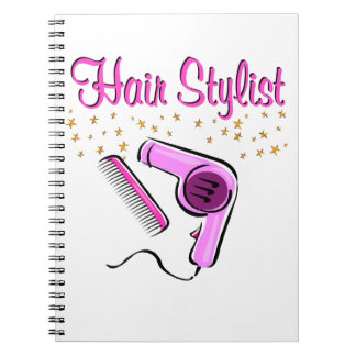 OUTSTANDING HAIR STYLIST AND BEAUTICIAN SPIRAL NOTEBOOK