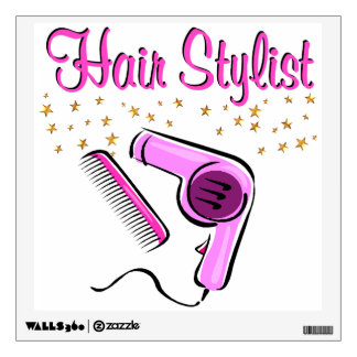 OUTSTANDING HAIR STYLIST AND BEAUTICIAN WALL DECAL