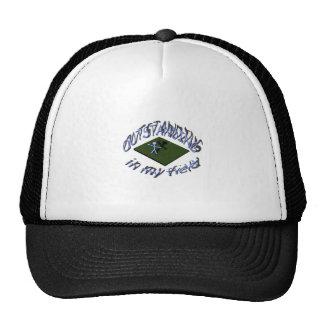 outstanding in my field. trucker hat