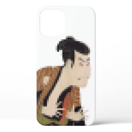 Outstanding Kabuki Actor Mosaic Art 025 iPhone 12 Pro Case