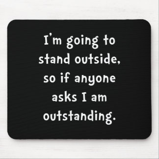 Outstanding Mouse Pad