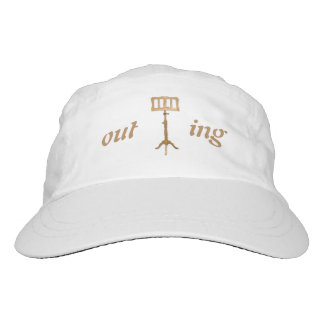 outSTANDing Music Stand Rebus Puzzle Headsweats Hat