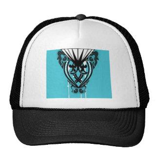 Outstanding swirls design trucker hat