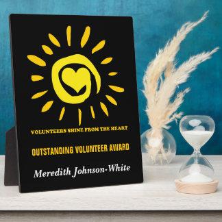 Outstanding Volunteer Award Plaque