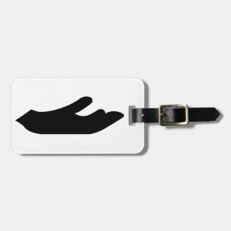 Outstretched Hand Luggage Tag
