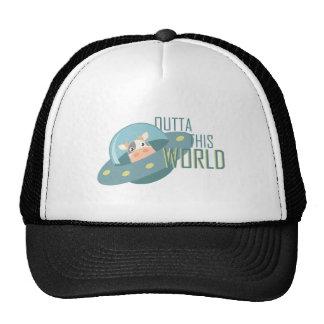Outta este mundo gorra