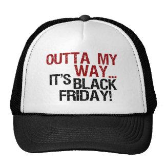 outta mi negro viernes de la manera gorros bordados