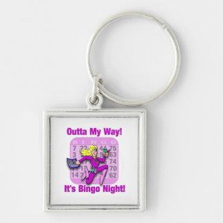 Outta My Way! It's Bingo Night Key Chains