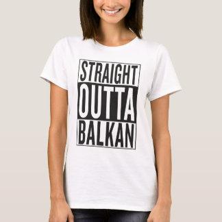 outta recto Balcan Playera