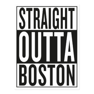 outta recto Boston Postales