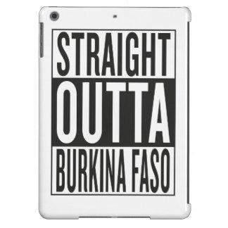 outta recto Burkina Faso Funda Para iPad Air