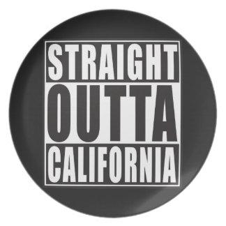 Outta recto California Plato De Comida
