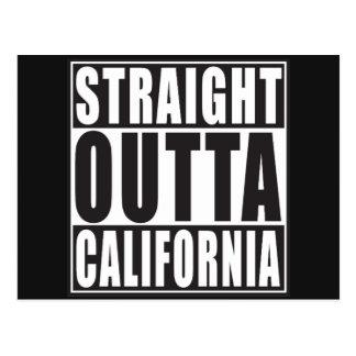 Outta recto California Tarjetas Postales