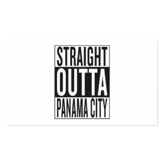outta recto ciudad de Panamá Tarjetas De Visita