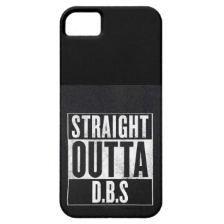 Outta recto D.B.S Funda Para iPhone 5 Barely There