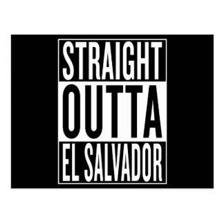 outta recto El Salvador Postales