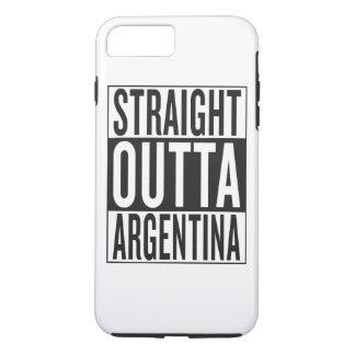 outta recto la Argentina Funda iPhone 7 Plus