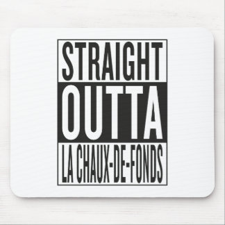 outta recto La Chaux-de-Fonds Alfombrillas De Ratones