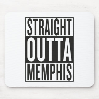 outta recto Memphis Alfombrilla De Ratones